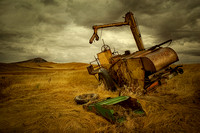 Old Wheat Harvester